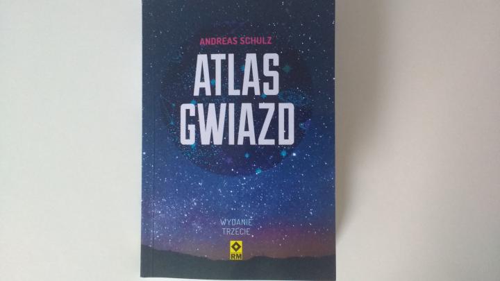 """Na noc – """"Atlas gwiazd"""", A.Schulz; Wyd. RM"""