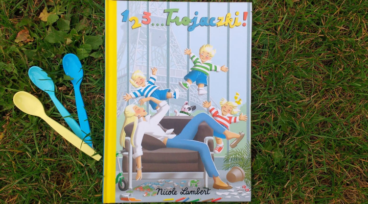 "Dla dzieci – ""123… Trojaczki"", N. Lambert; Wyd. JUPI!"