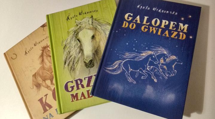 """Dla dzieci – """"Galopem do gwiazd"""" Agata Widzowska; Dreams Wydawnictwo"""