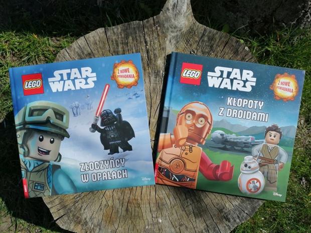 """LEGO STAR WARS """"Złoczyńcy w opałach"""" i """"Kłopoty z droidami""""; Wydawnictwo AMEET"""