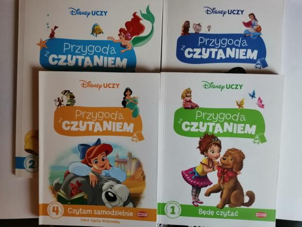 CZYTAMY – Przygoda z czytaniem – Disney uczy; Wydawnictwo AMEET
