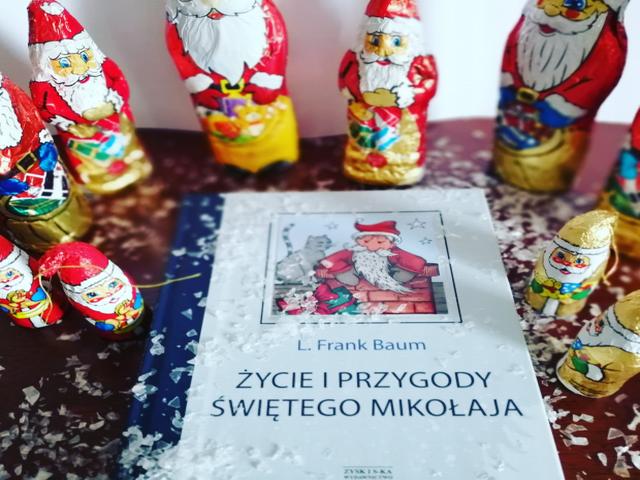"""""""Życie i przygody Świętego Mikołaja"""" L.Frank Baum; Zysk i S-ka Wydawnictwo"""