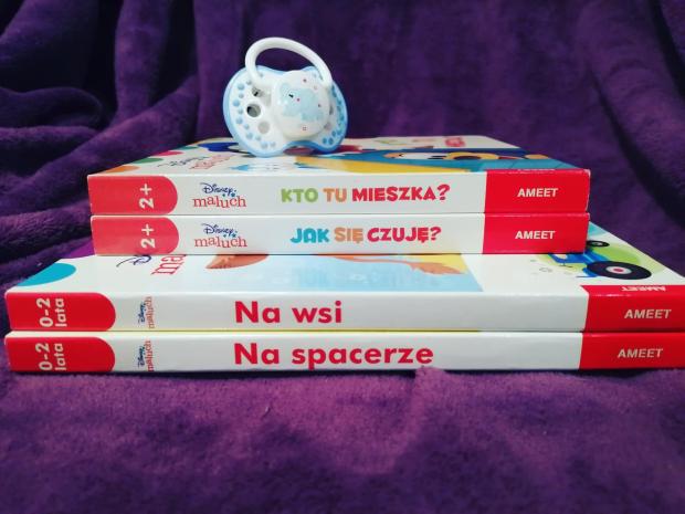 Disney maluch – seria dla najmłodszych czytelników od Wydawnictwa AMEET