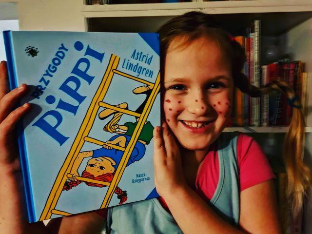 """PIPPI – """"Przygody Pippi"""" Astrid Lindgren; Nasza Księgarnia"""