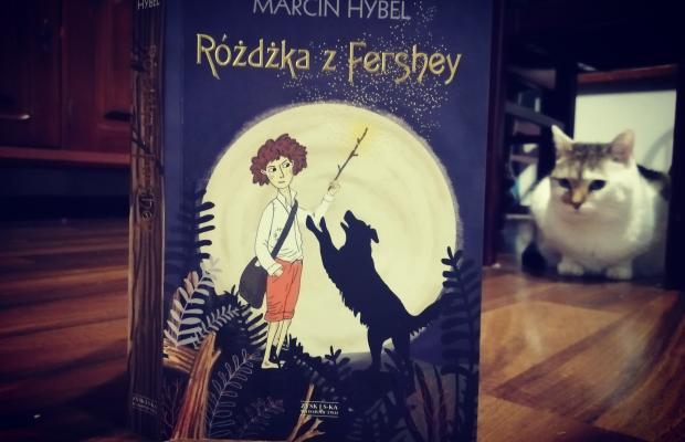 """MAGIA MAGNUSA – """"Różdżka z Fershey"""" Marcin Hybel; Zysk i S-ka Wydawnictwo"""