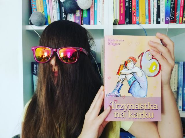 """ACH ŻYCIE! – """"Trzynastka na karku"""" Katarzyna Majgier; Wydawnictwo Akapit Press"""
