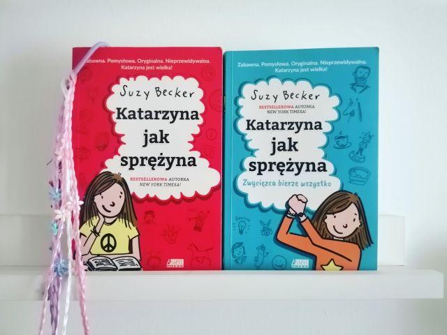 """I TO RAZY DWA – """"Katarzyna jak sprężyna"""" Suzy Becker; Akapit Press"""