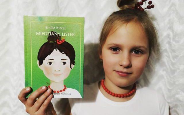 """Jesienna lektura – """"Miedziany listek"""" Emilia Kiereś; Akapit Press"""