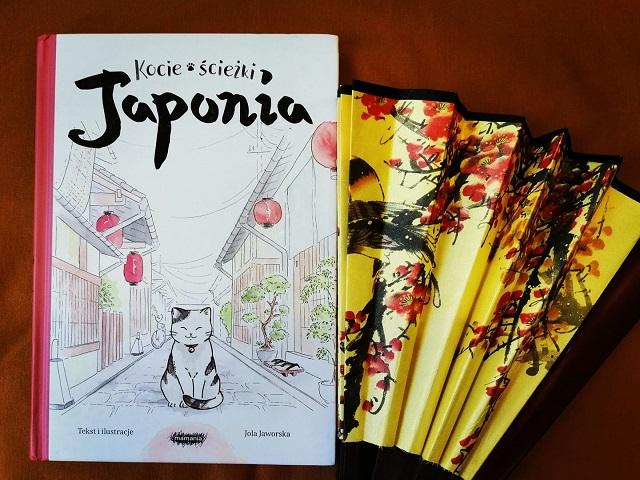 """Kocie ścieżki. Japonia"" Jola Jaworska; MAMANIA"