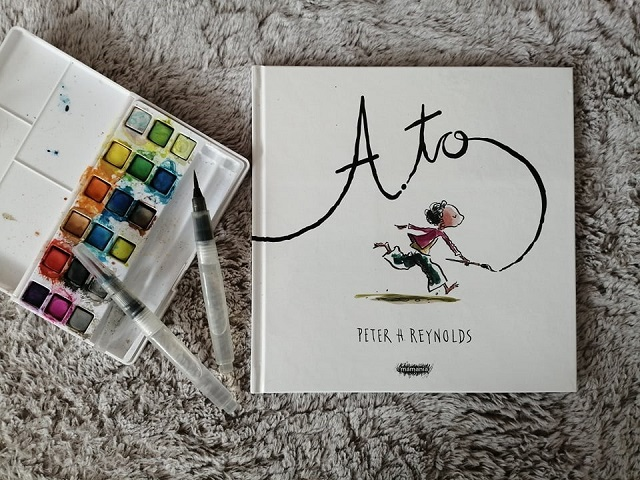"""RECENZJA – """"A to"""" Peter H. Reynolds; MAMANIA"""